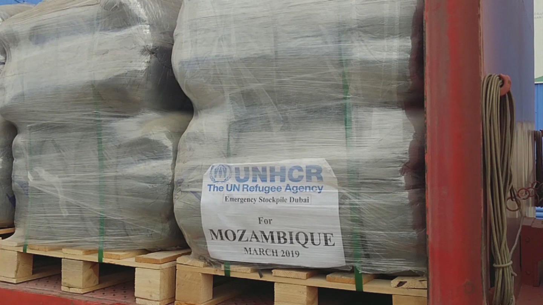 UNHCR  CYCLONE IDAI AID