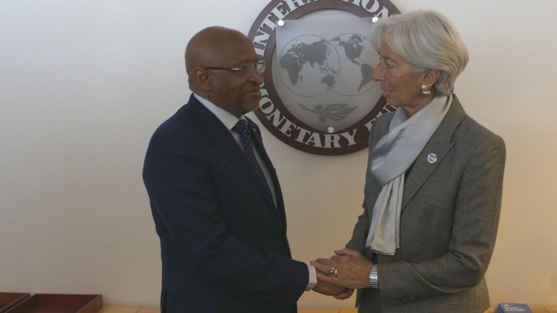 IMF  LAGARDE MALI