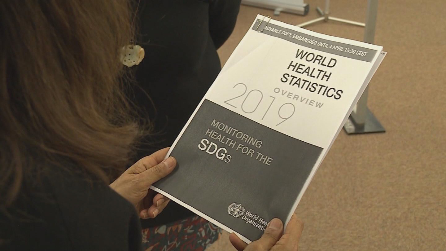 WHO  WORLD HEALTH STATISTICS REPORT