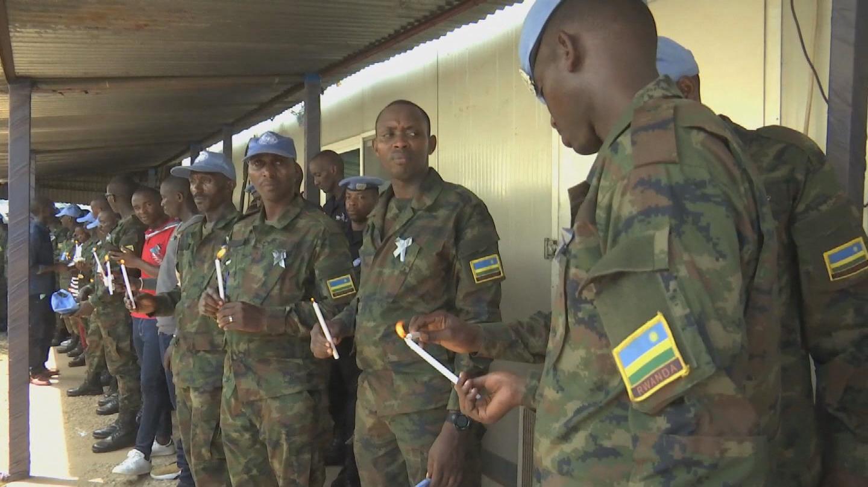 SOUTH SUDAN  RWANDA GENOCIDE MEMORIAL