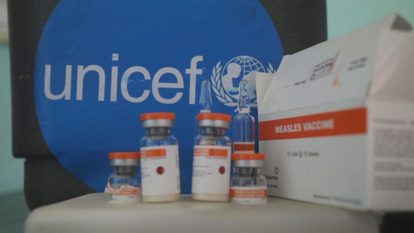 UNICEF  MEASLES VACCINE
