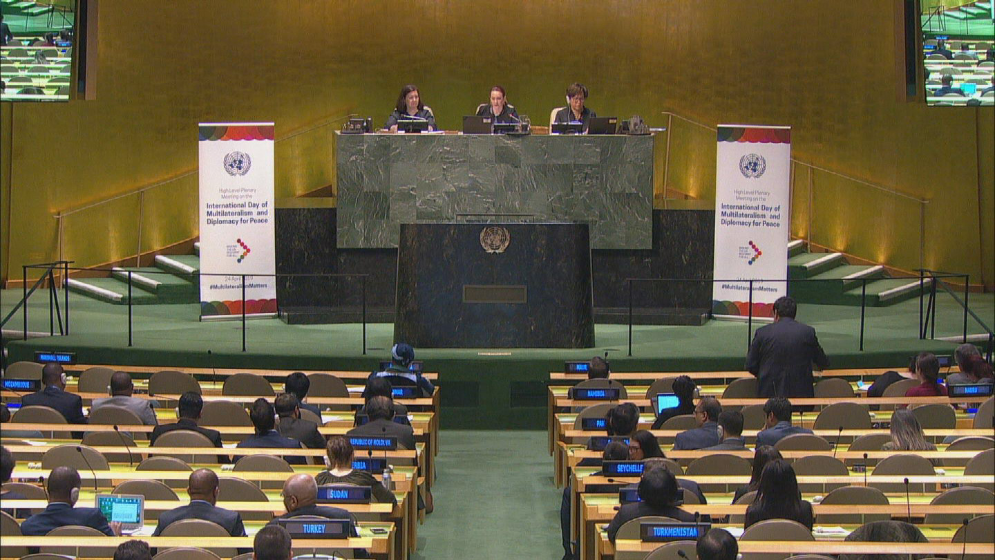 UN  MULTILATERALISM AND DIPLOMACY