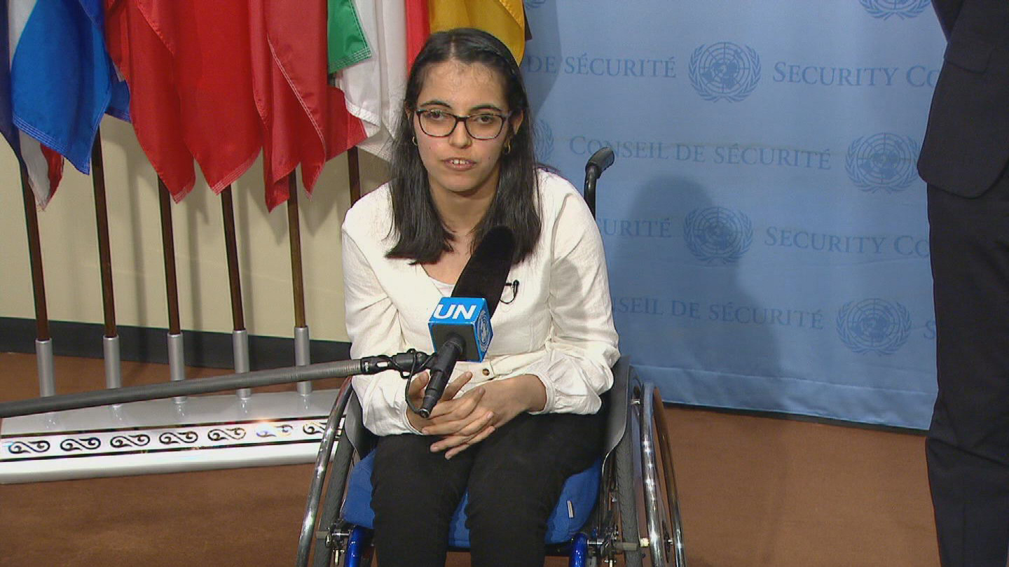 UN  SYRIA DISABILITIES