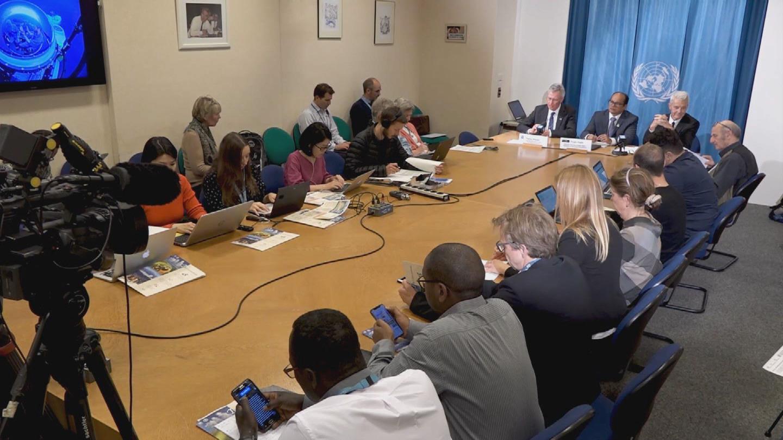 GENEVA  UNEP FAO PRESSER