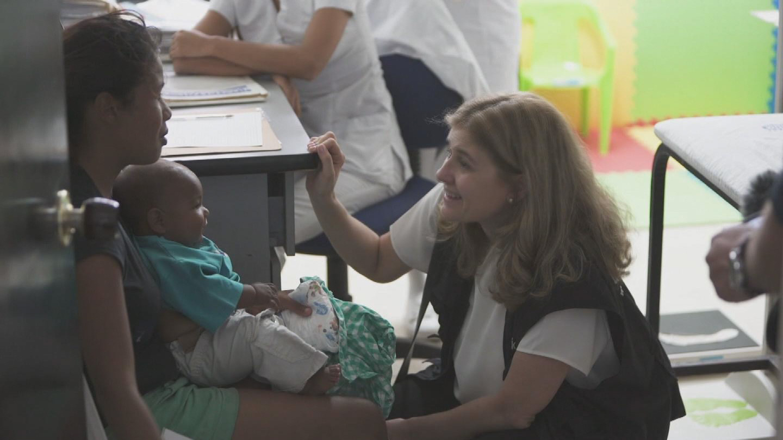 COLOMBIA  VENEZUELAN REFUGEE CHILDREN