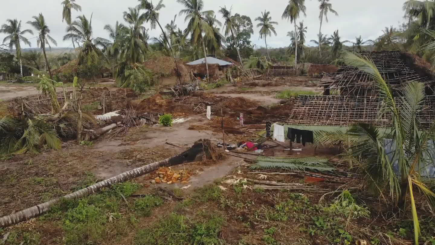 MOZAMBIQUE  CYCLONE AFTERMATH