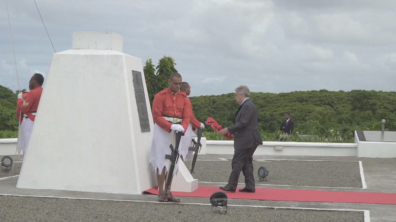 FIJI  PEACEKEEPERS MEMORIAL