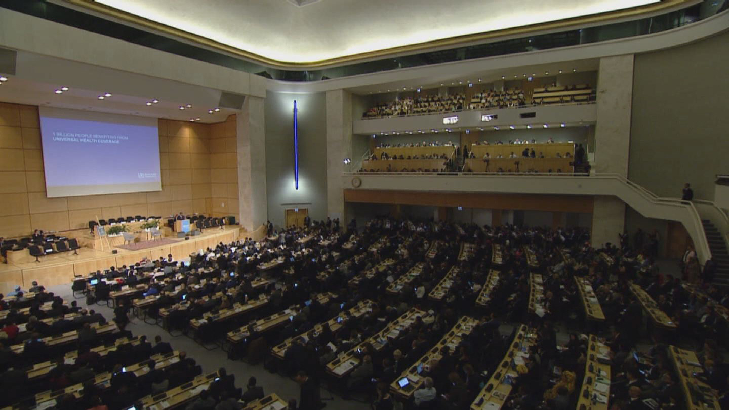 WHO  WORLD HEALTH ASSEMBLY