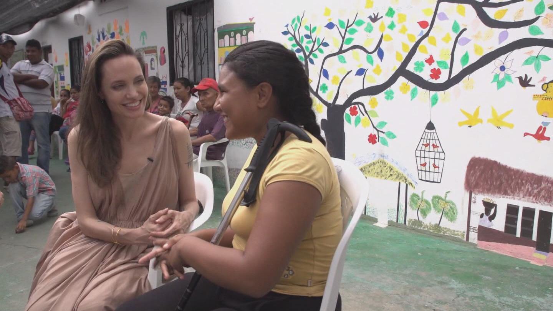 COLOMBIA  JOLIE VENEZUELAN REFUGEES