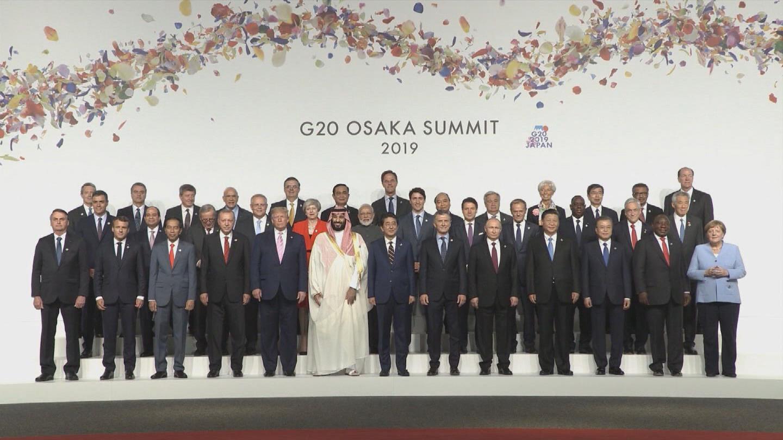 OSAKA  G20 GUTERRES