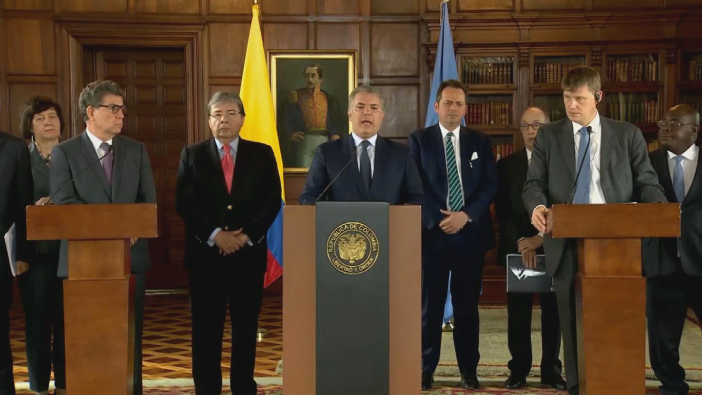 COLOMBIA  SECURITY COUNCIL VISIT