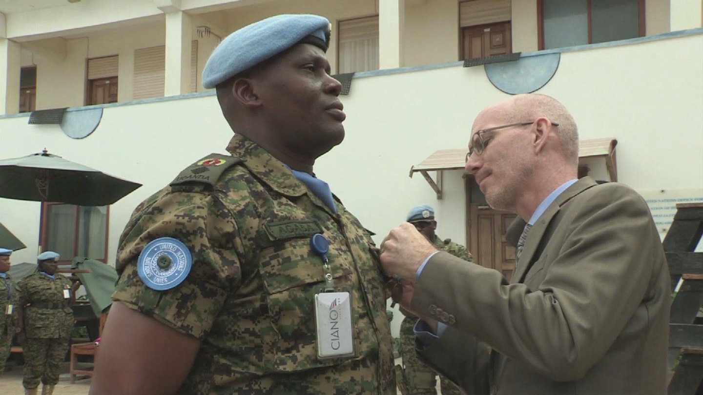 SOMALIA  MEDAL CEREMONY