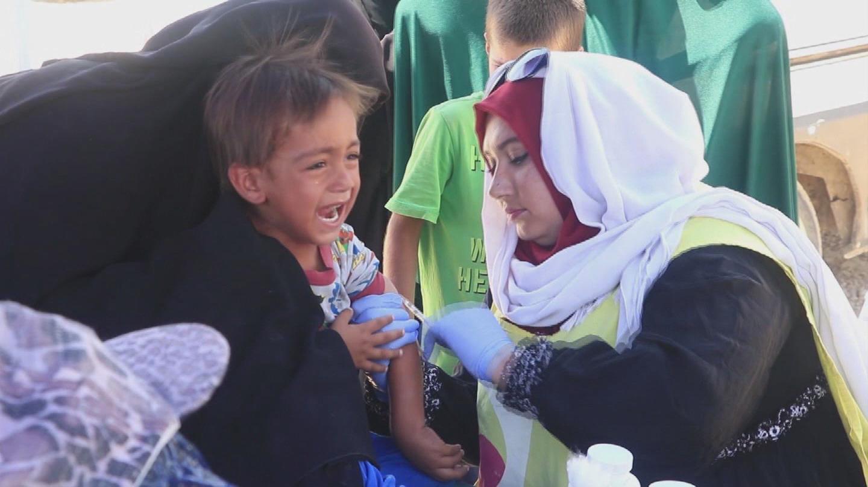 SYRIA  AL HOL CHILDREN