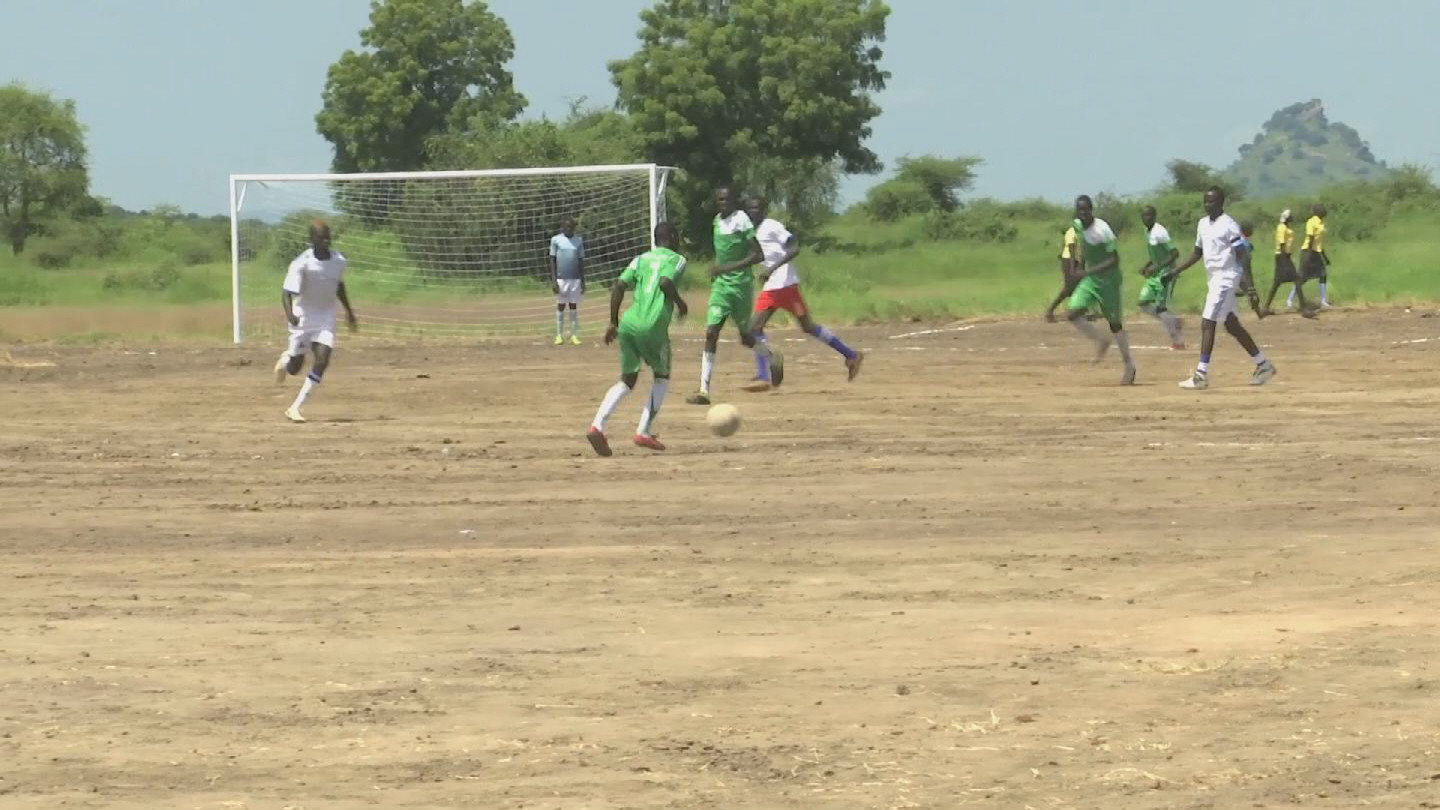 SOUTH SUDAN / FOOTBALL AND PEACE