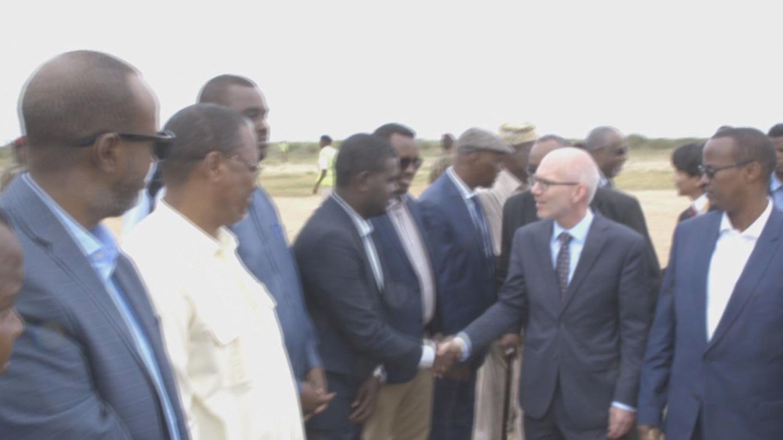 SOMALIA  SWAN HIRSHABELLE VISIT