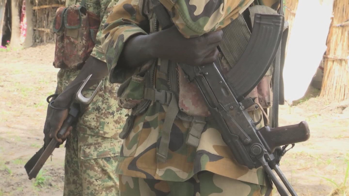 SOUTH SUDAN  ARMED GROUPS CHILDREN
