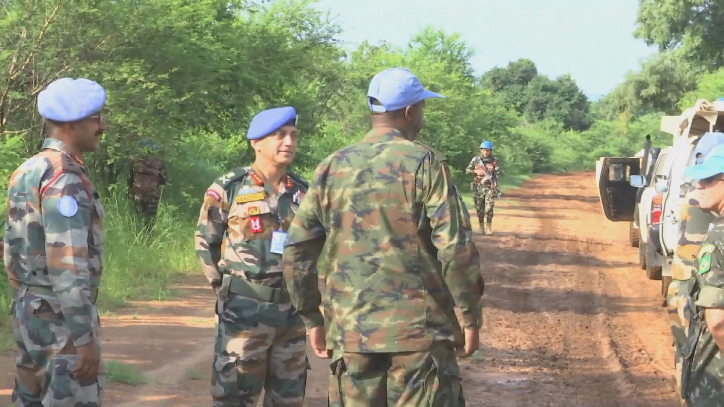 SOUTH SUDAN  LAINYA YEI PATROLS