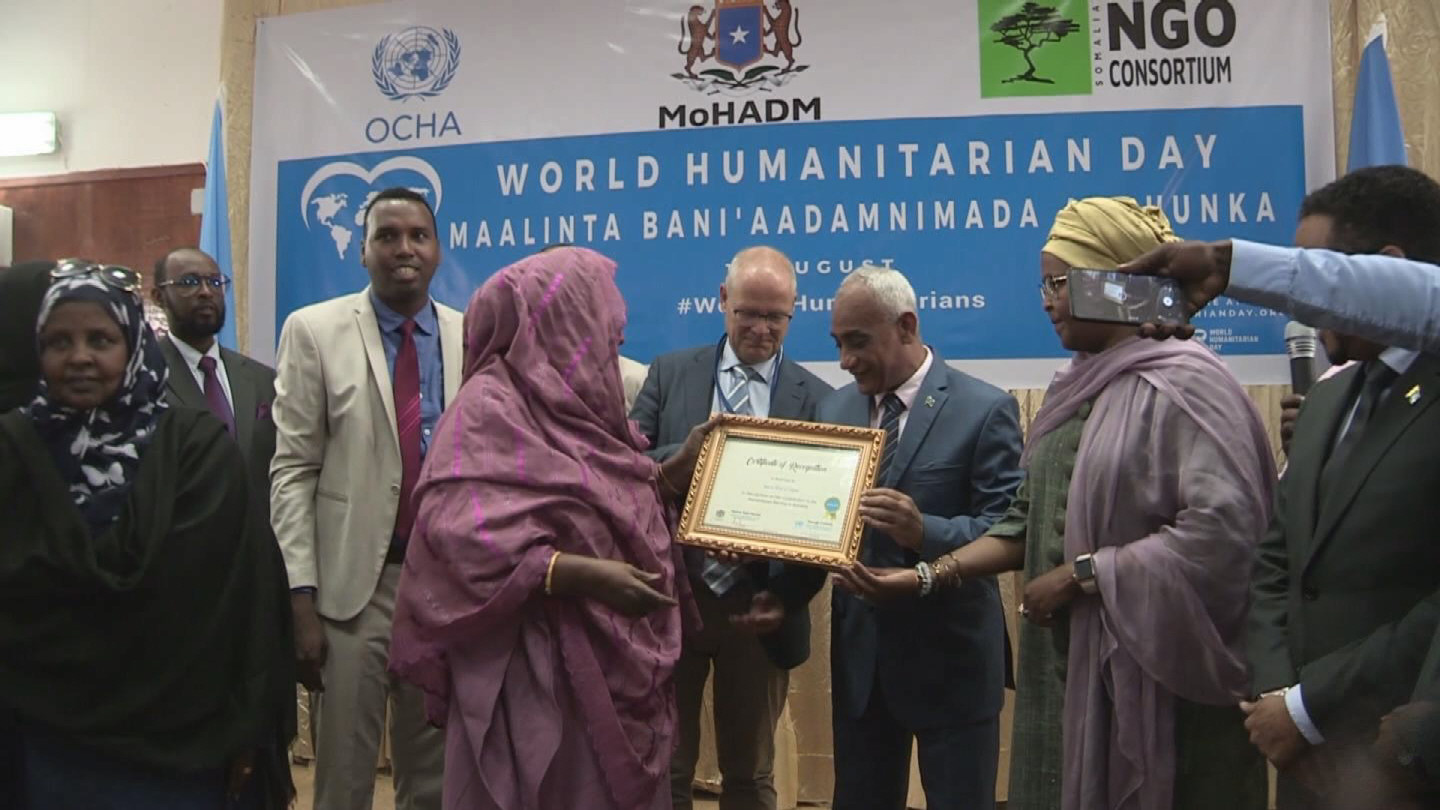 SOMALIA  WORLD HUMANITARIAN DAY