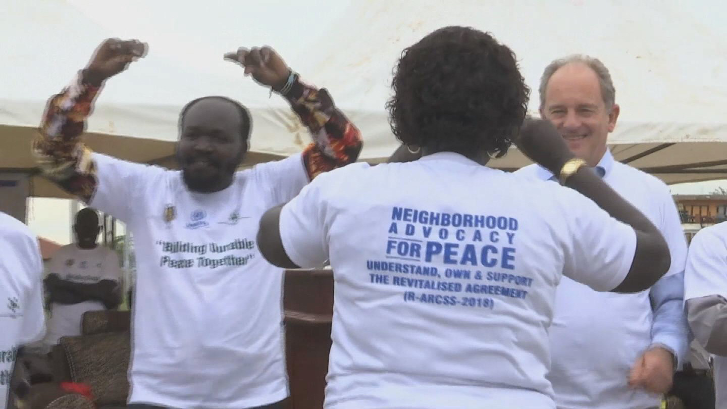 SOUTH SUDAN  ADVOCACY FOR PEACE