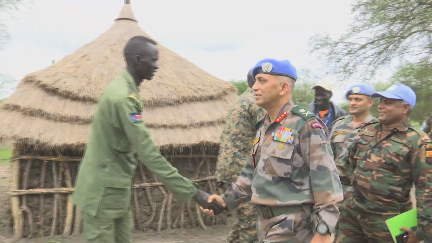 SOUTH SUDAN  UNITY REGION SECURITY