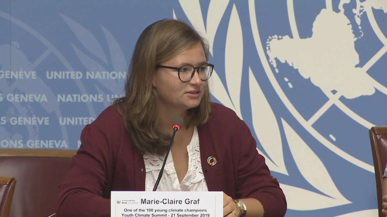 GENEVA  GRAF CLIMATE ACTIVIST