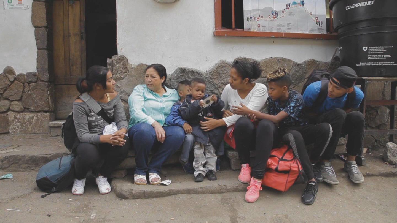 COLOMBIA  VENEZUELAN REFUGEES