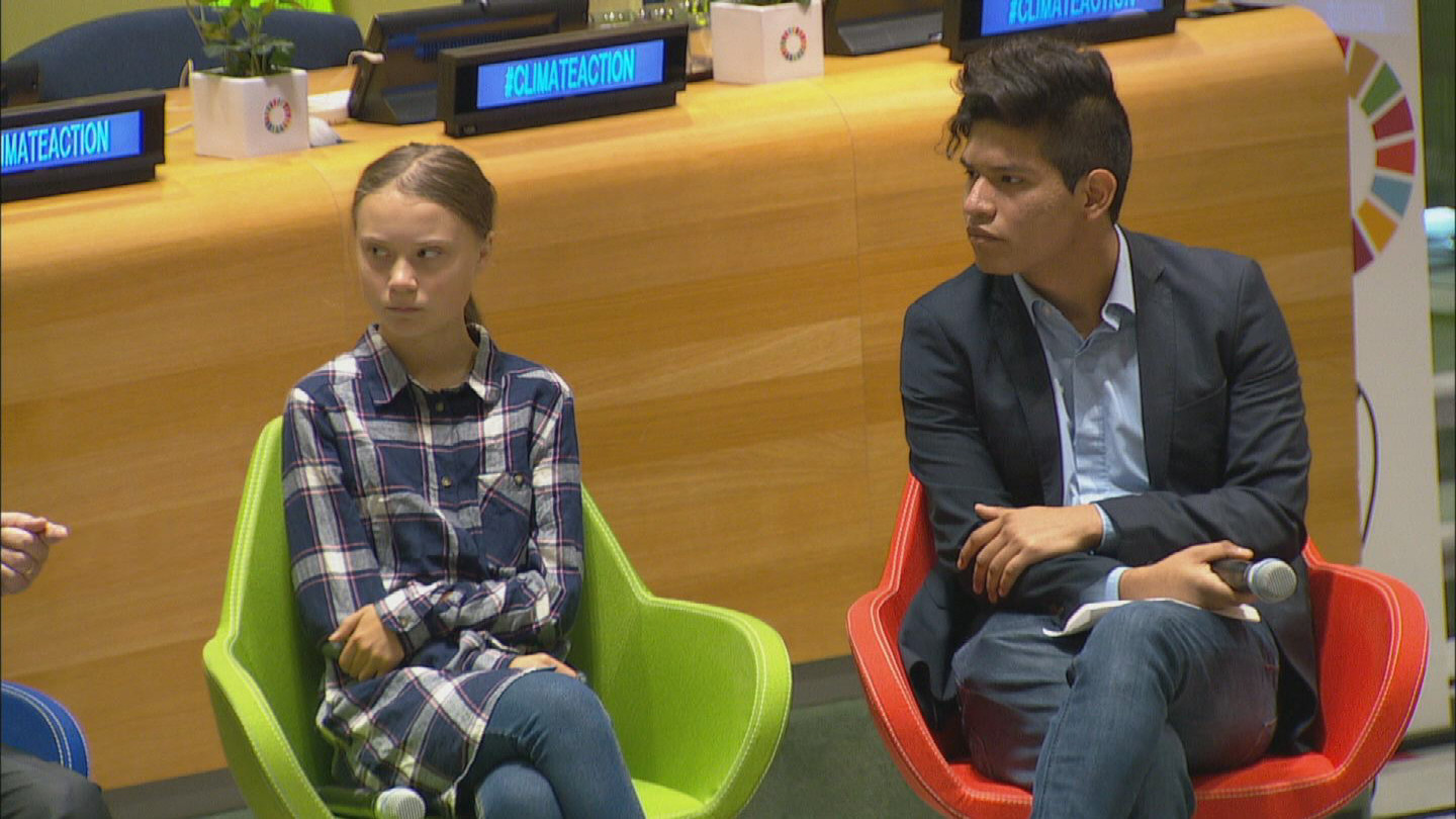 UN  YOUTH CLIMATE SUMMIT