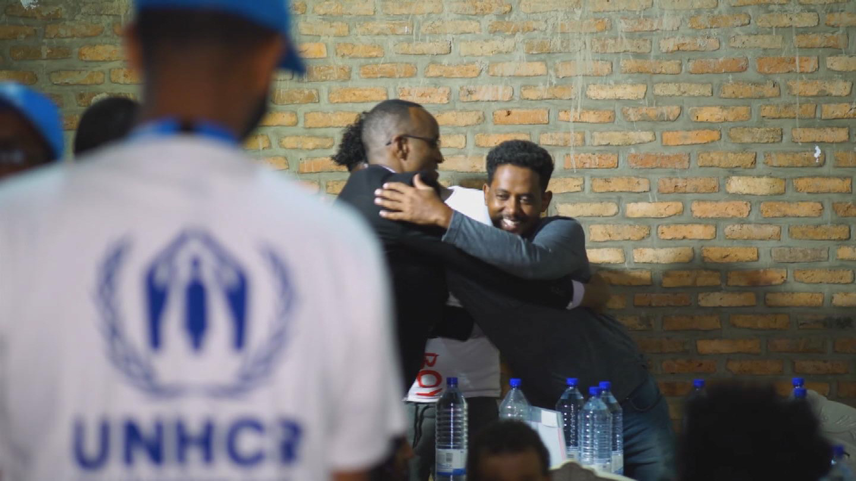 UNHCR  RWANDA LIBYA EVACUEES
