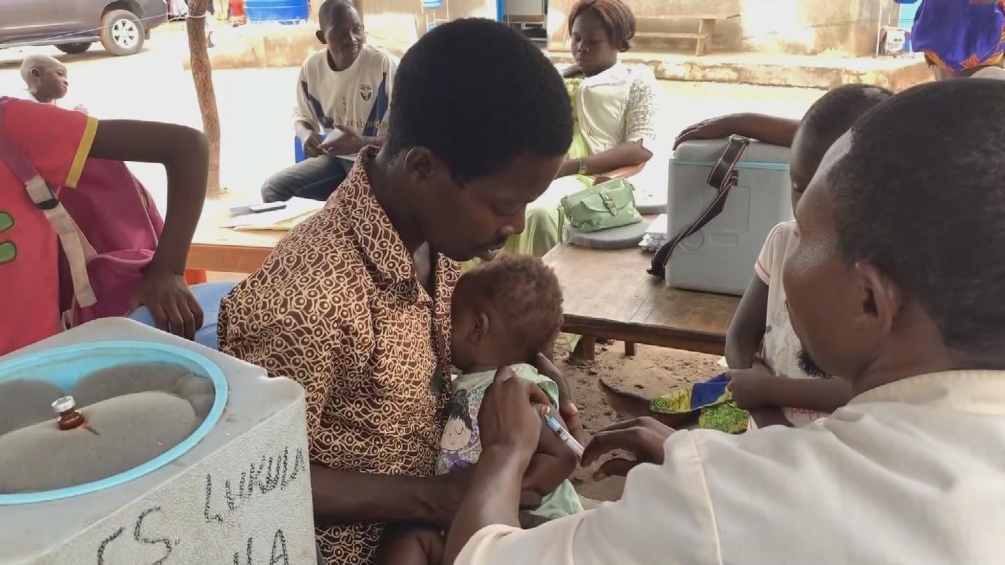 WHO  DRC MEASLES VACCINATION