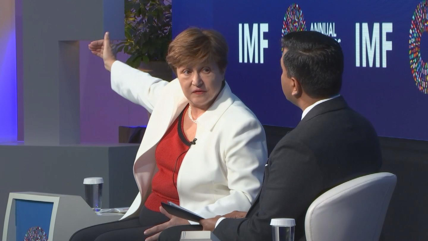 IMF  GEORGIEVA GENDER EQUALITY