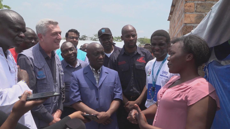 UNHCR  ZAMBIA GRANDI