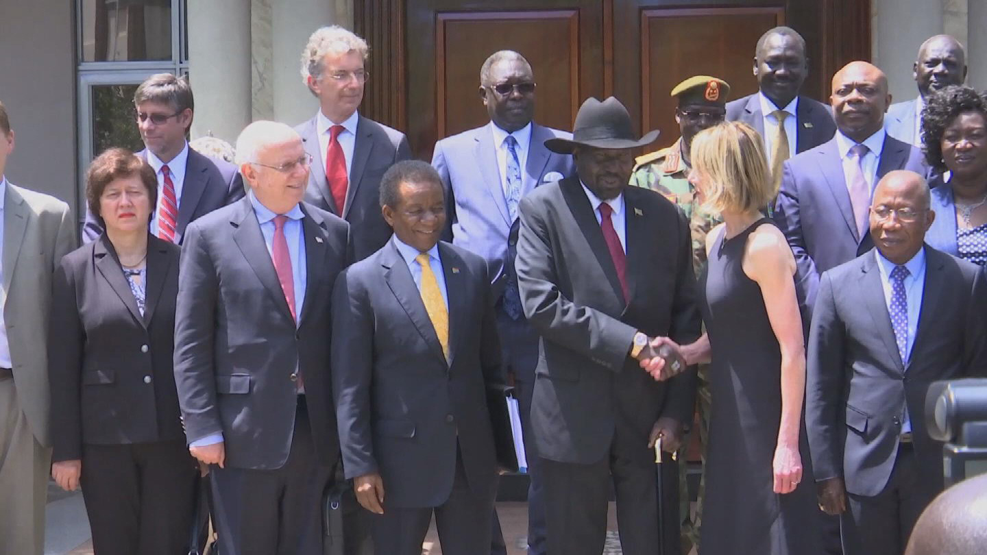 SOUTH SUDAN  SECURITY COUNCIL VISIT