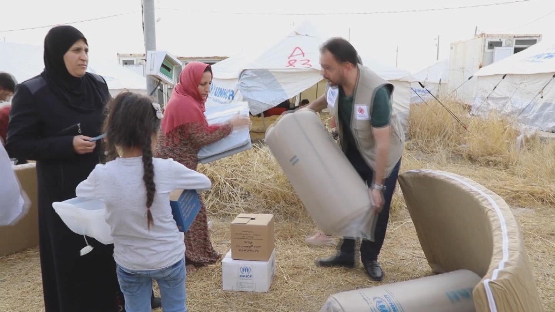 IRAQ  SYRIAN REFUGEE