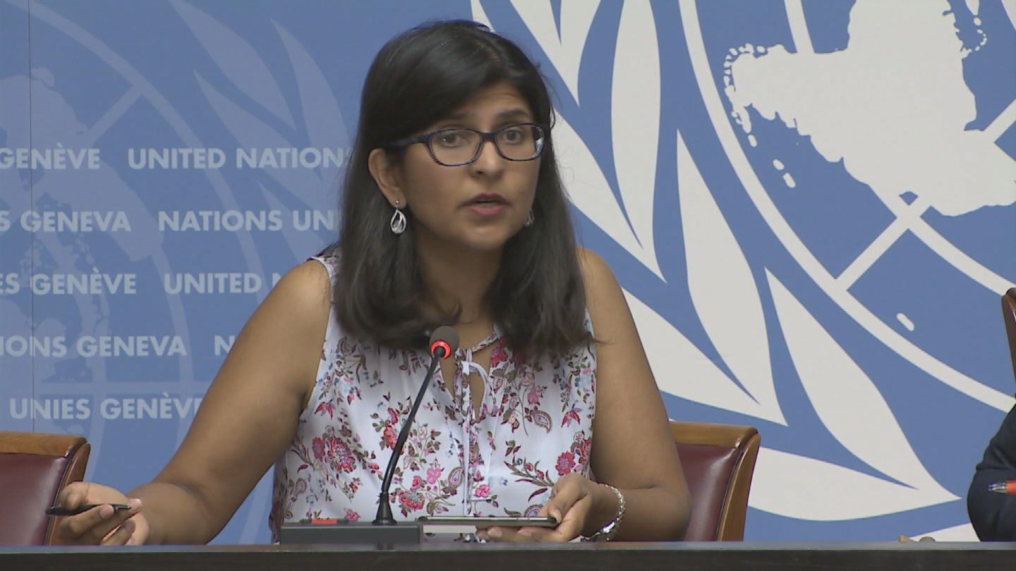 OHCHR  PROTESTS REAX
