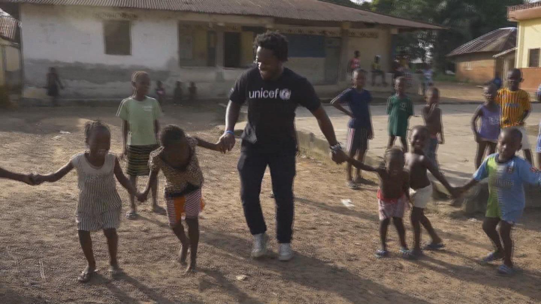 SIERRA LEONE  ISHMAEL BEAH VISIT