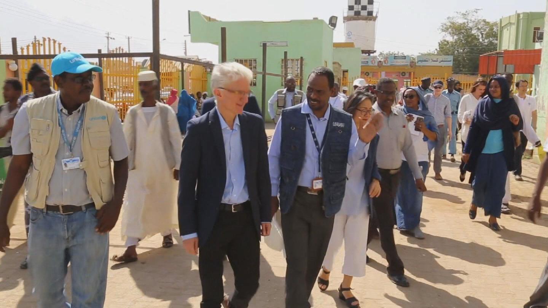SUDAN  LOWCOCK VISIT