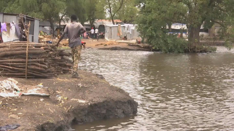 SOUTH SUDAN  HEAVY RAINS FLOODING