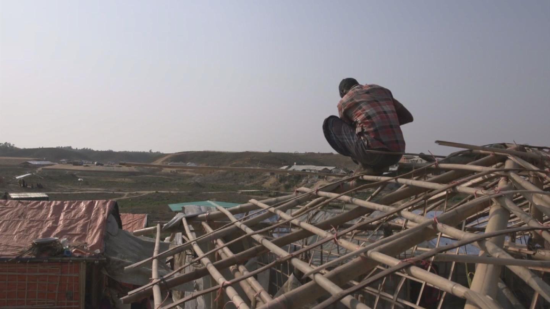 BANGLADESH  ROHINGYA REFUGEES SHELTERS