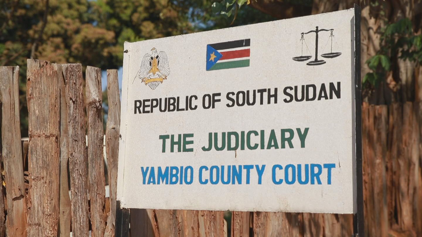 SOUTH SUDAN  YAMBIO MOBILE COURT