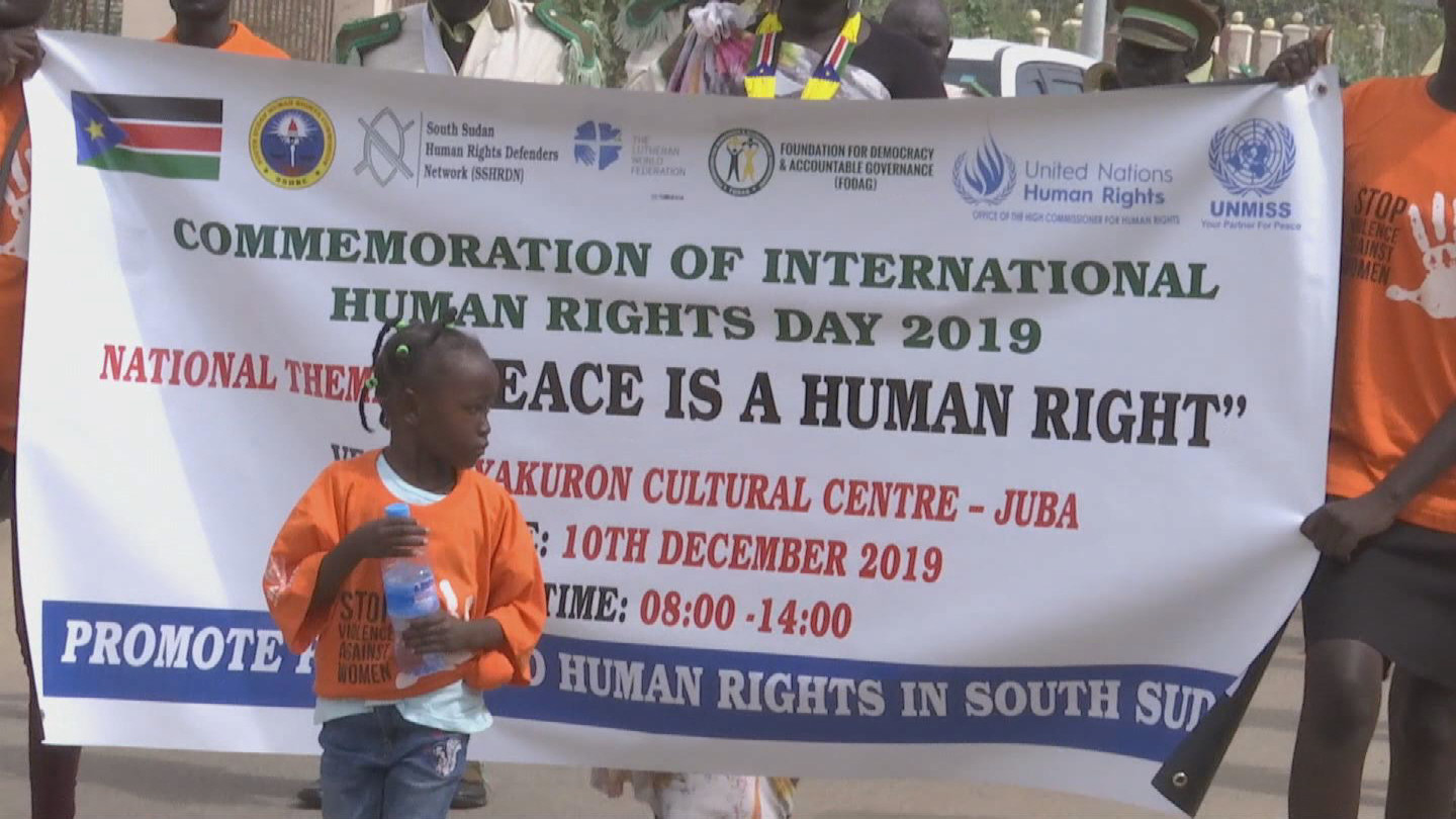 SOUTH SUDAN  HUMAN RIGHTS DAY