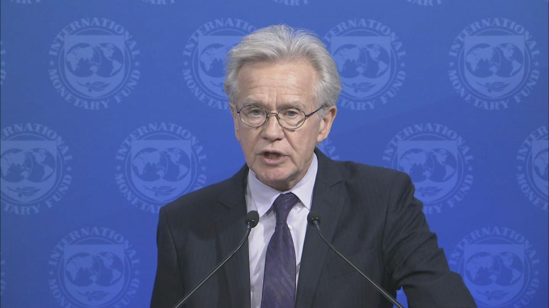 IMF  TRADE ARGENTINA ECB UKRAINE