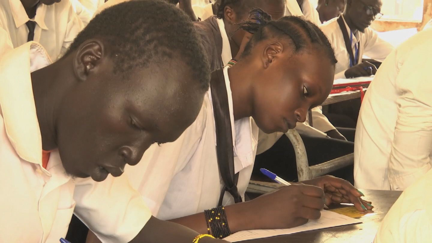 SOUTH SUDAN  DISPLACED STUDENTS EXAMS