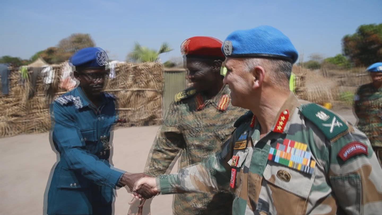 SOUTH SUDAN  LIRANGU VISIT