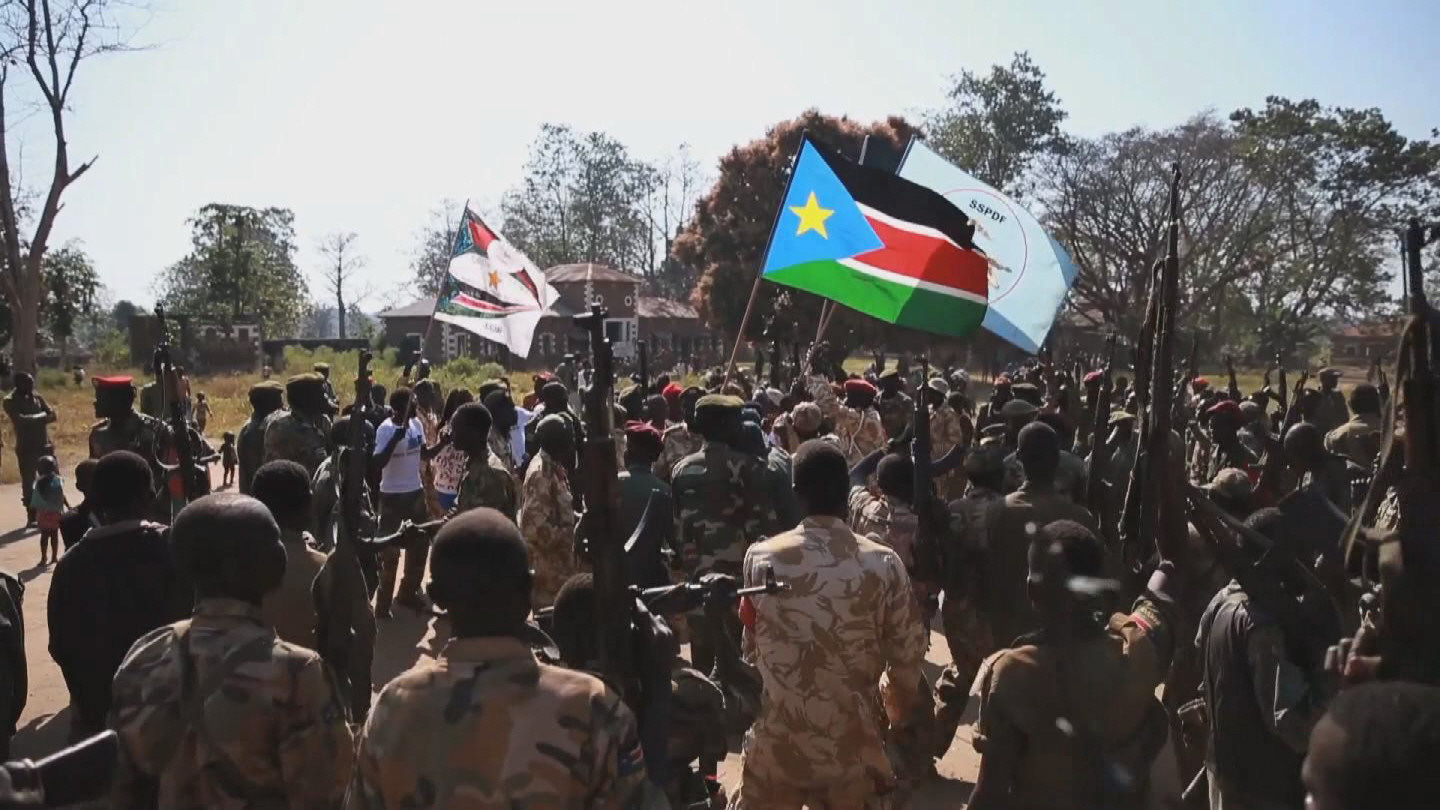 SOUTH SUDAN  OPPOSITION TROOPS INTEGRATION