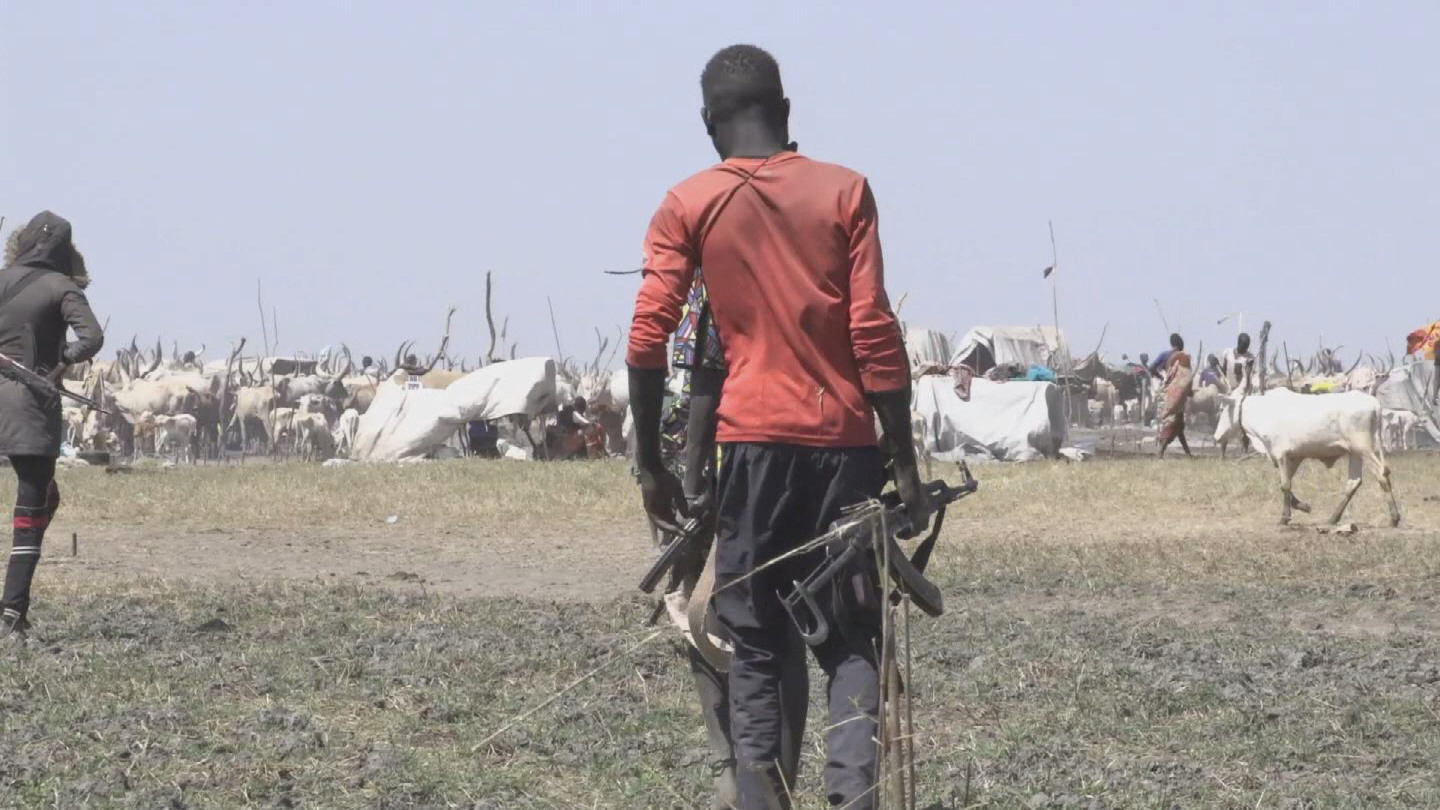 SOUTH SUDAN  CATTLE CAMPS