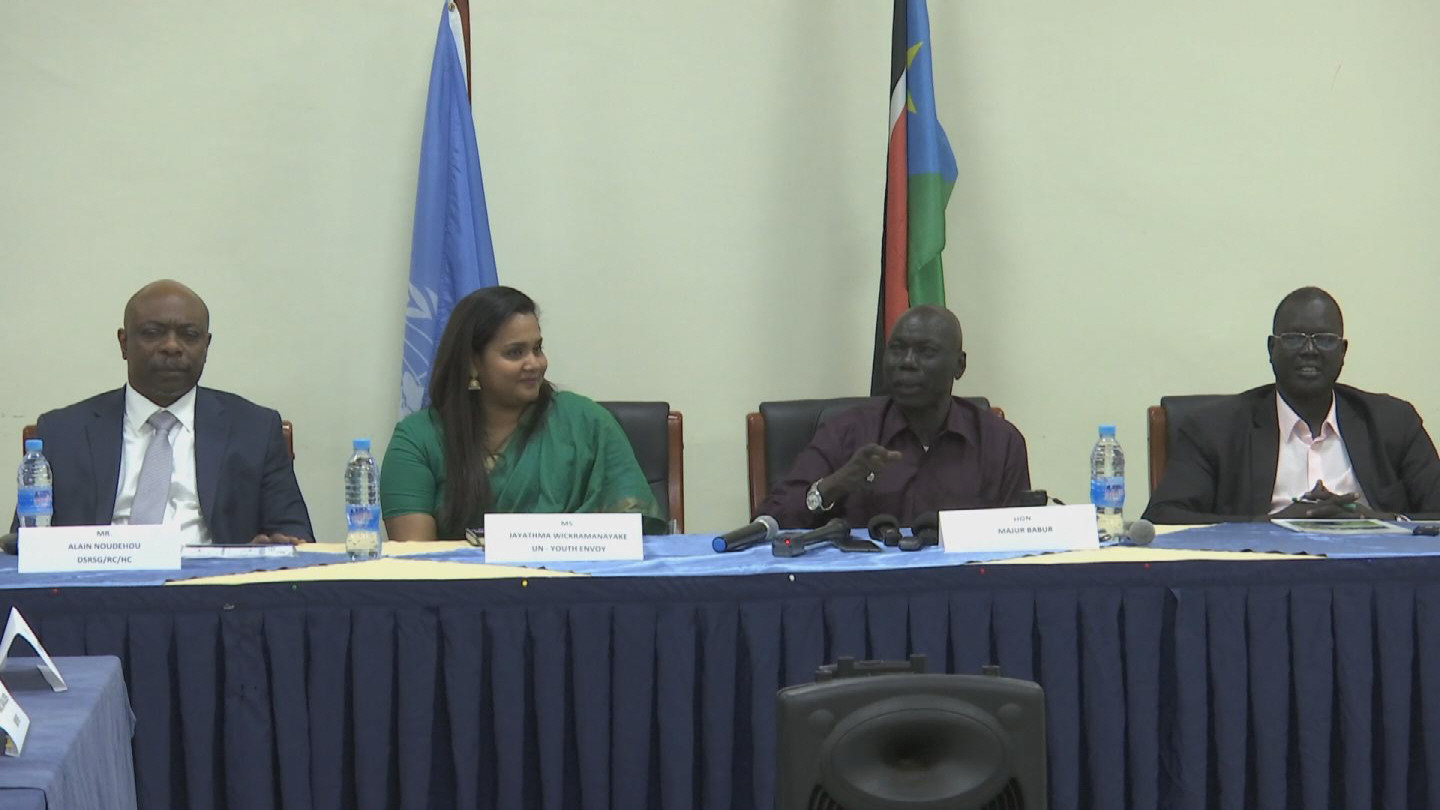SOUTH SUDAN  YOUTH ENVOY WRAP