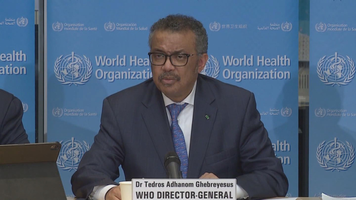 WHO / TEDROS COVID-19 UPDATE