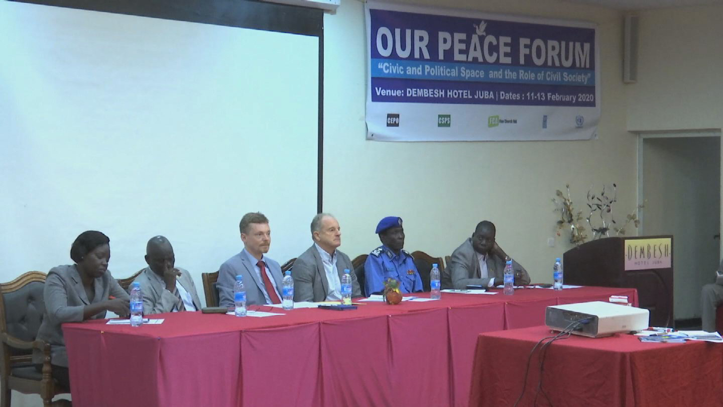 SOUTH SUDAN  PEACE FORUM