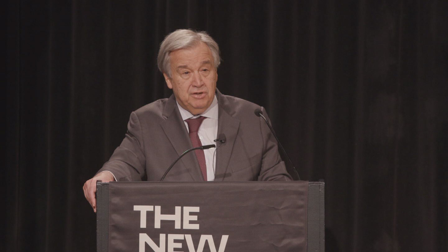 NY  GUTERRES GENDER EQUALITY