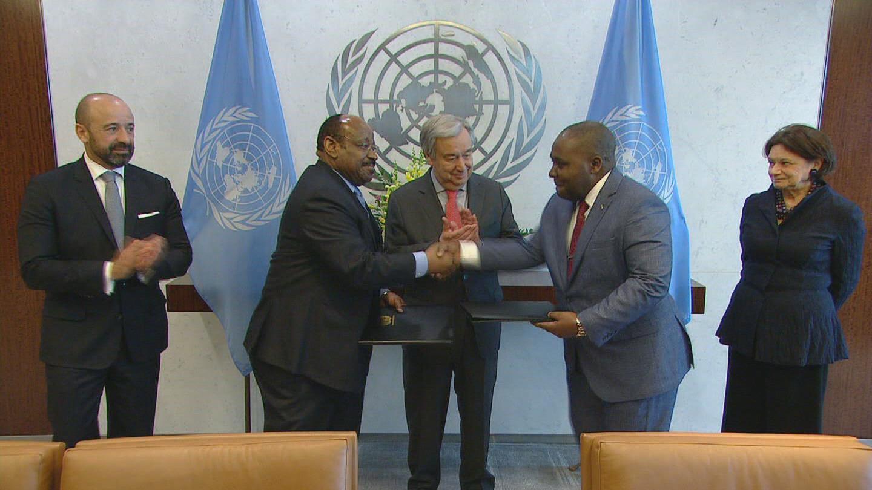 UN  GABON EQUATORIAL GUINEA